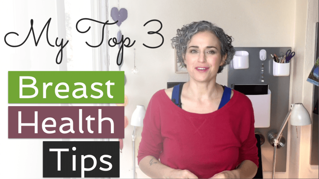 breast health top three tips video thumbnail
