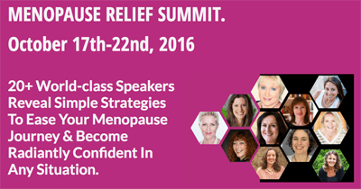 menopause relief summit logo