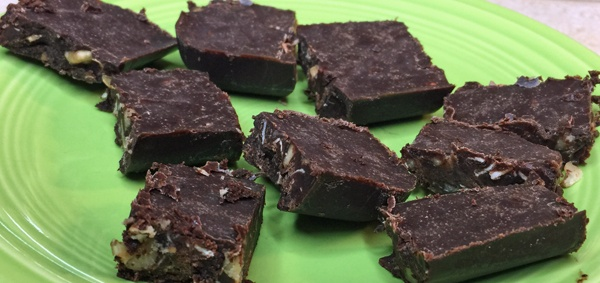 healthy coconut oil fudge recipe