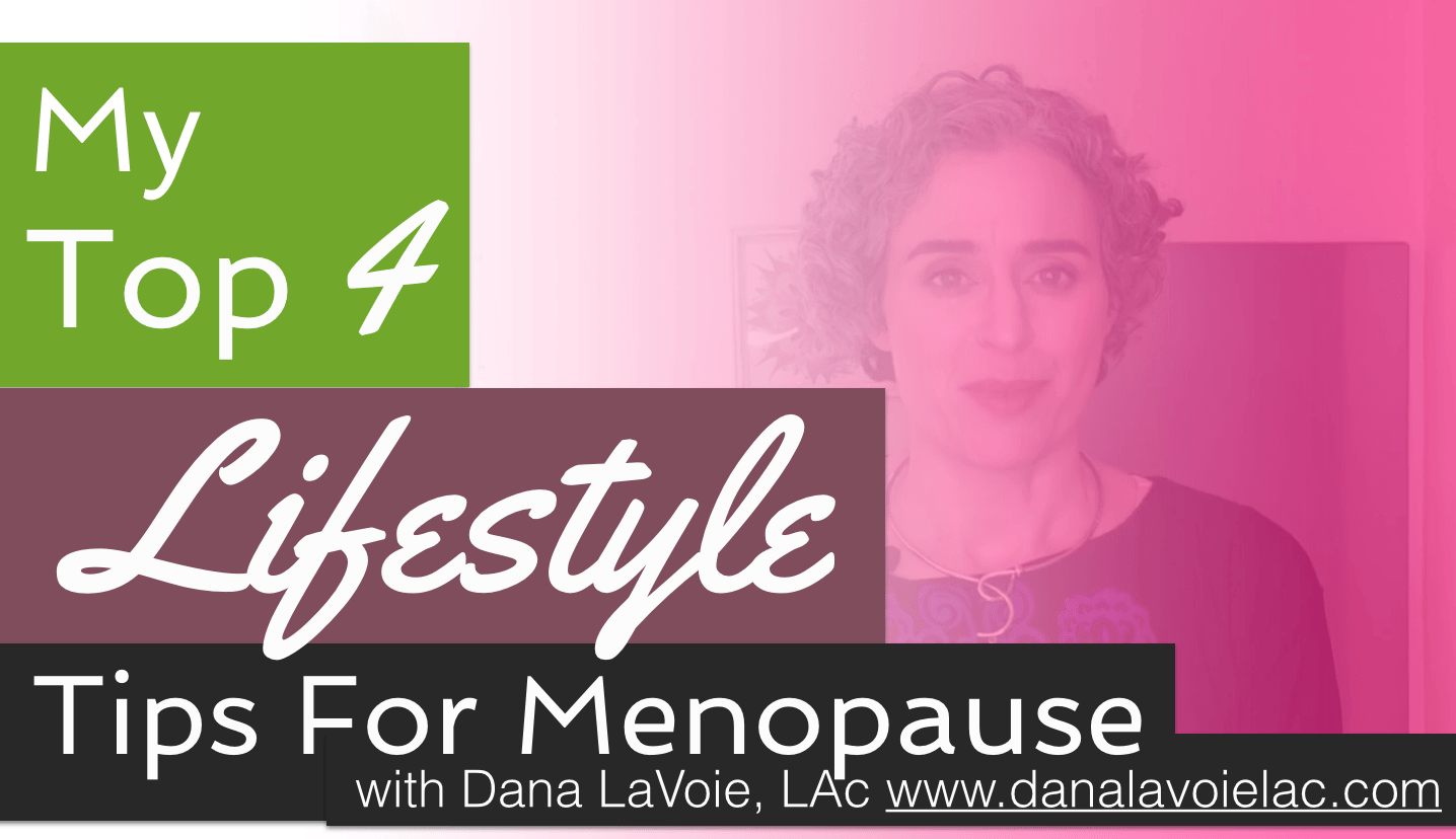 lifestyle changes that will make menopause easier - video blog post