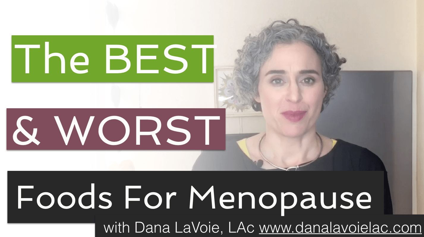 the ultimate menopause diet video thumbnail