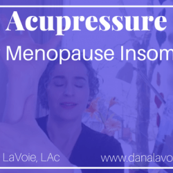 acupressure for menopause insomnia video thumbnail