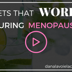 diets that work during menopause