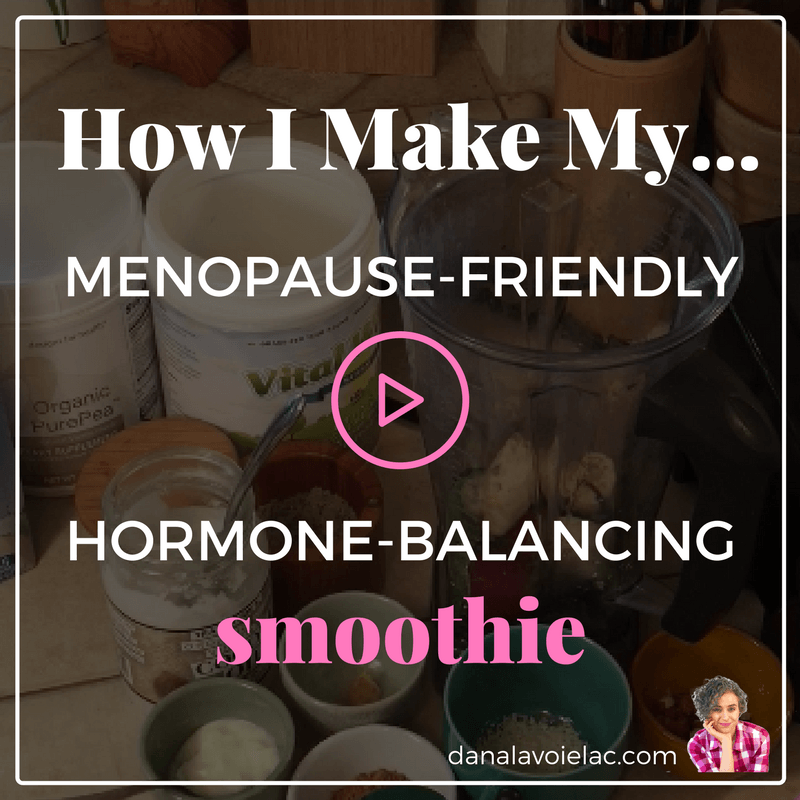 How i make my menopause friendly hormone balancing smoothie