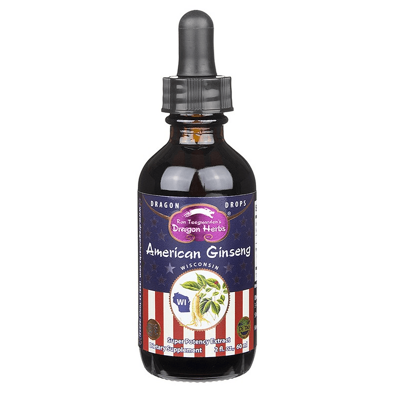 AMERICAN GINSENG TINCTURE FROM DRAGON HERBS