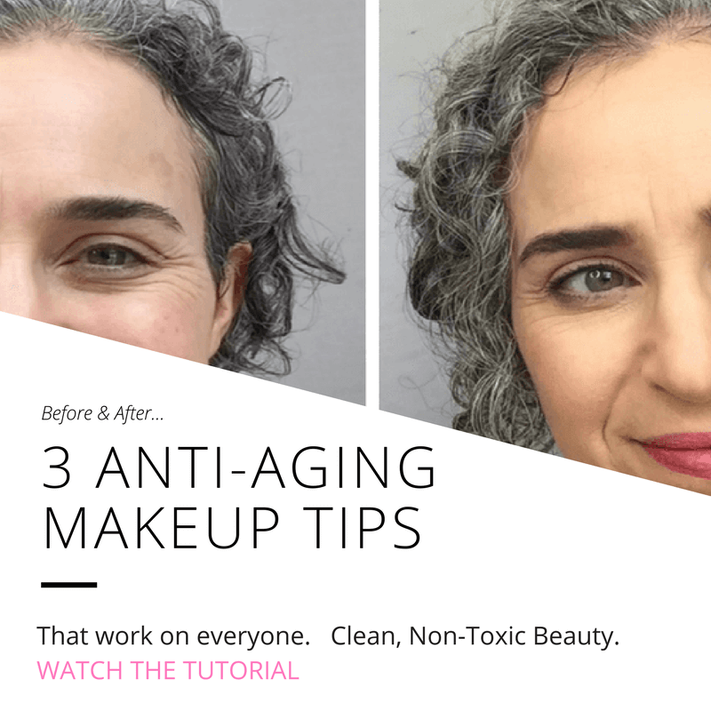 anti aging makeup tips clean beauty