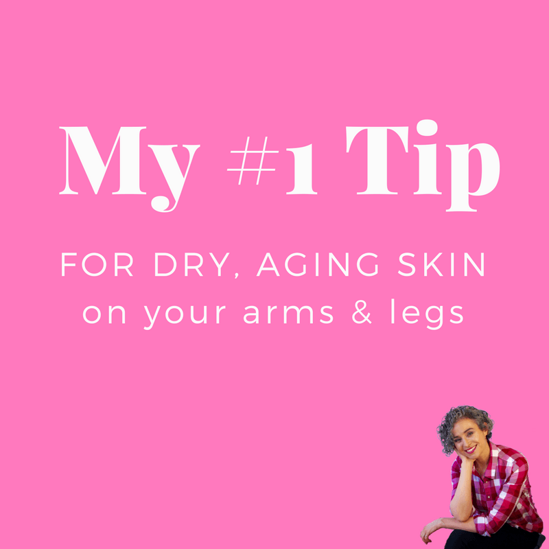 my dry skin tip skincare over 50