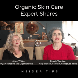 Industry insider shares her organic, anti-aging menopause skin care secrets