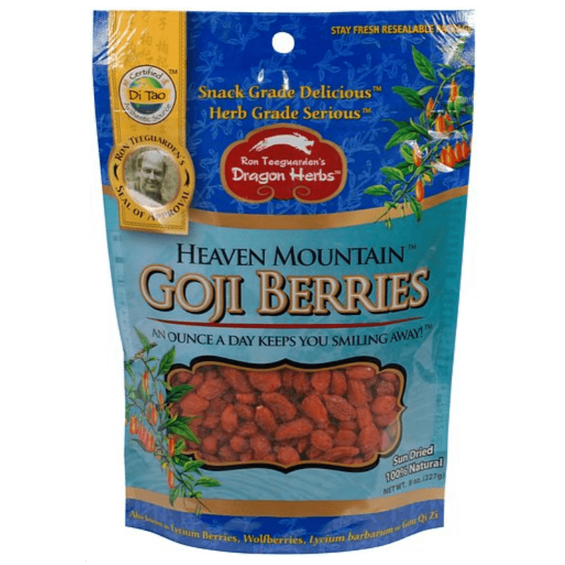 HEAVEN MOUNTAIN GOJI BERRIES FROM DRAGON HERBS