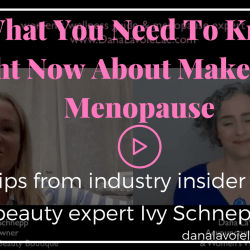 menopuause makeup with ivy schnepp