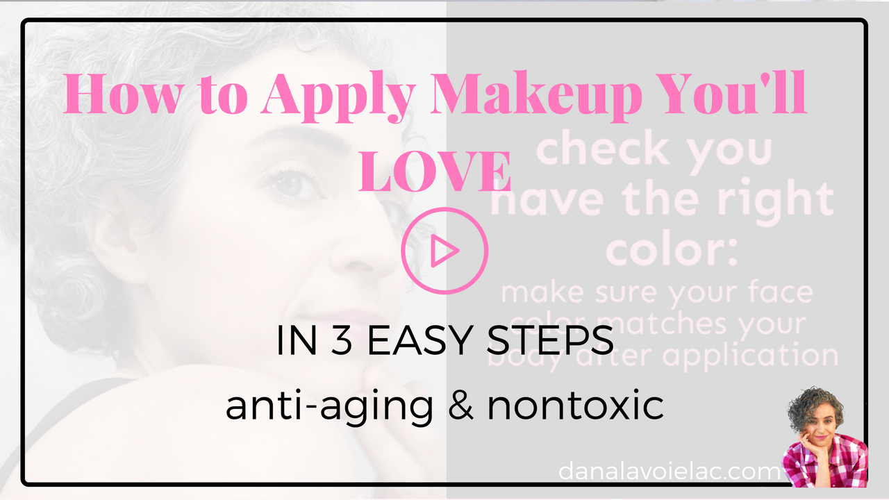how to apply menopause safe makeup youll love in 3 easy steps