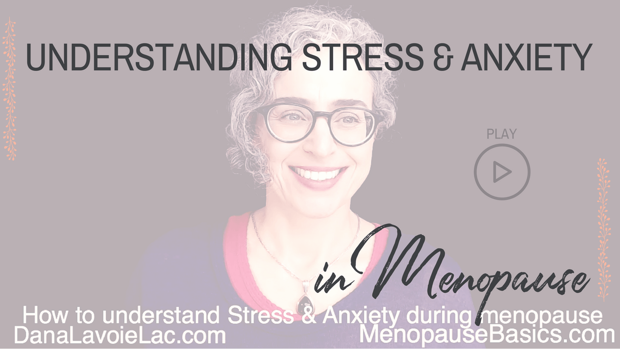 understanding stress and anxiety in menopause