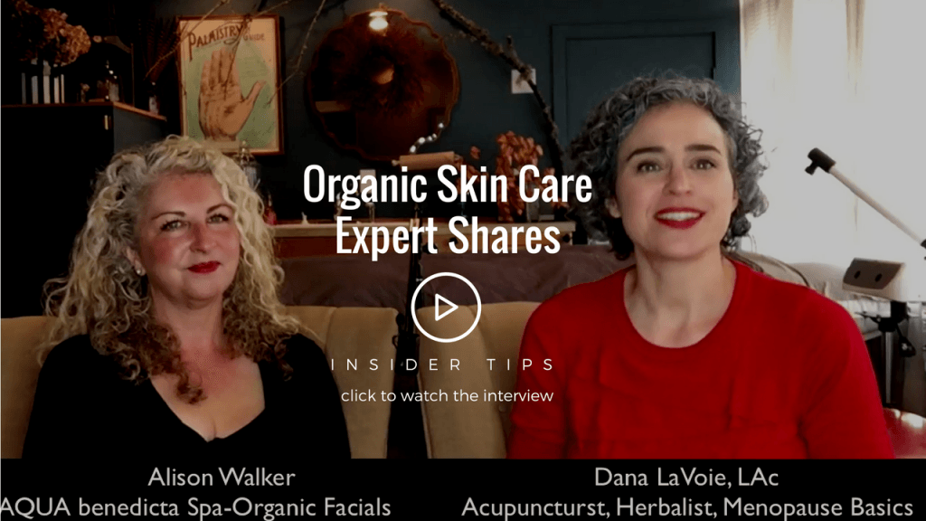 organic skin care expert alison walker shares menopause skin care secrets