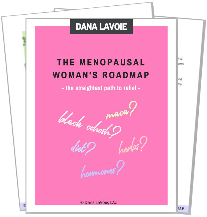 menopausal woman's roadmap