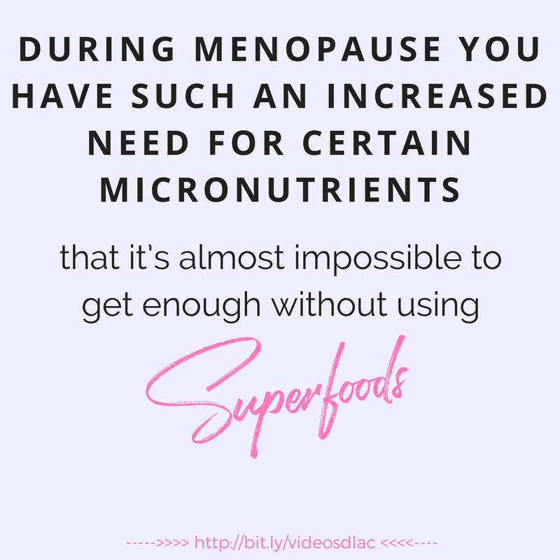 Menopause superfood