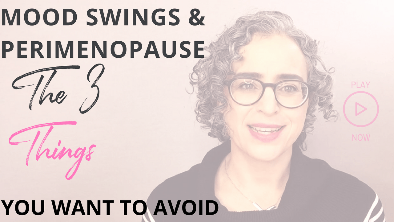 Mood swings and perimenopause