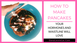 low carb pancakes for women's health