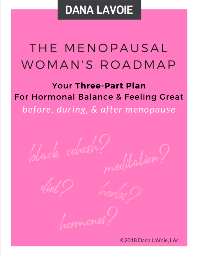 menopausal womans roadmap cover 3 part plan
