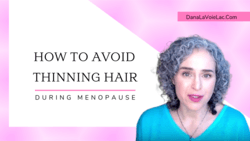 how to avoid thinning hair in menopause