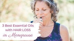 essential oils for hair loss in women over 40