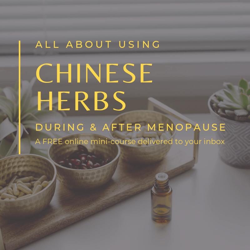 chinese herbs for menopause