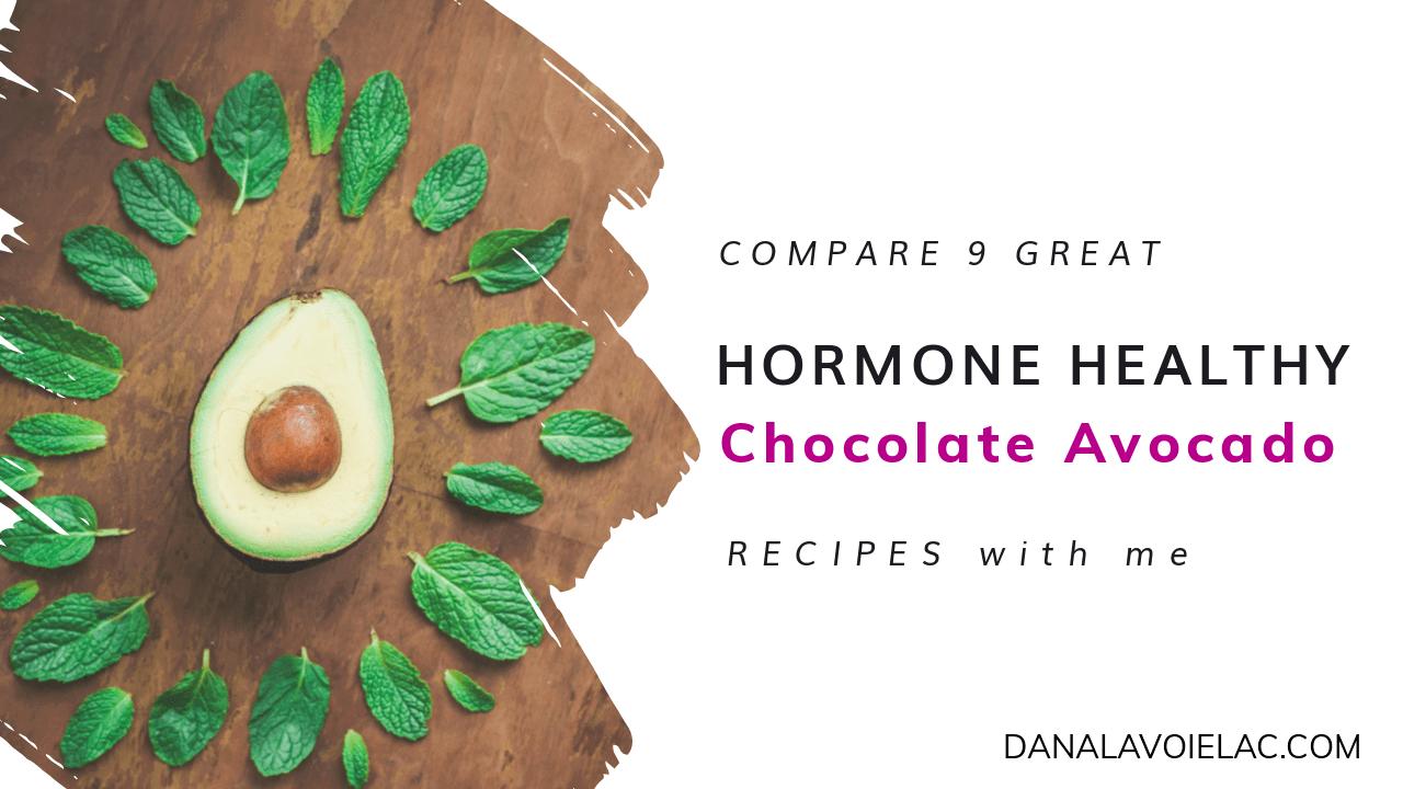 chocolate avocado recipes