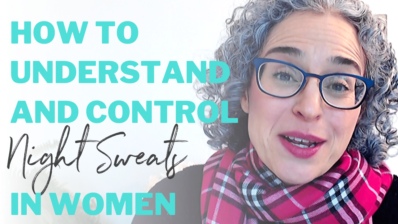 How to understand and control night sweats in women