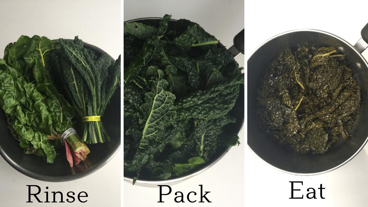 leafy greens recipe